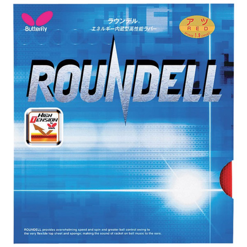 Butterfly Roundell Table Tennis Rubber Butterfly Table