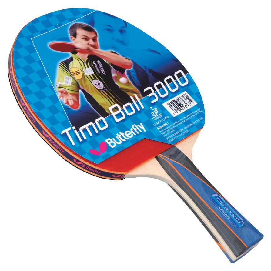 Butterfly Timo Boll 3000 Table Tennis Paddle Table