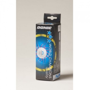 "DONIC ""P40+ *** Cell-Free"" Table Tennis Ball"