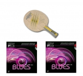 Donic Persson Seven Blade  + Donic Blues T1 Rubbers x 2