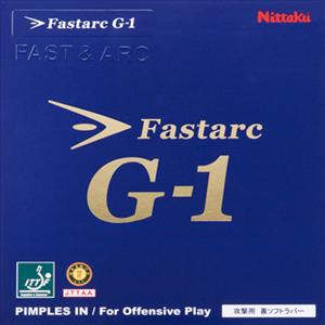 Nittaku Fastarc G-1 Table Tennis Rubber
